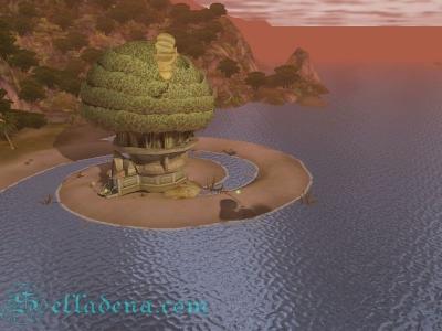 Aion башня на побережье Кантас