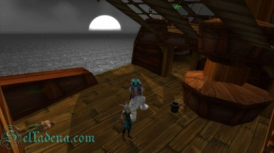 World of Warcraft на корабле